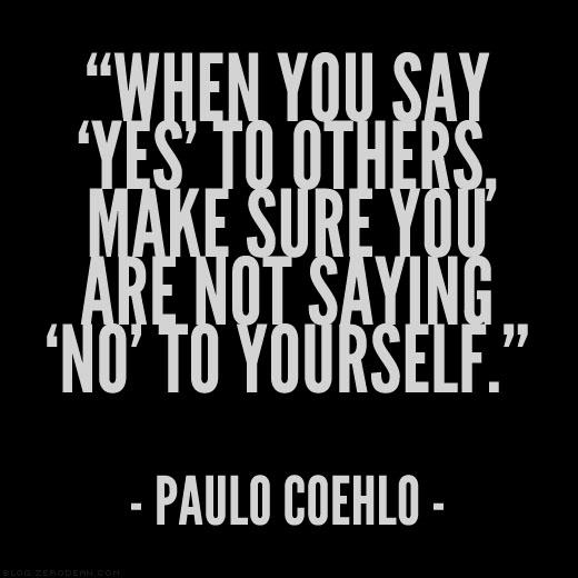 The Importance of Saying 'No'